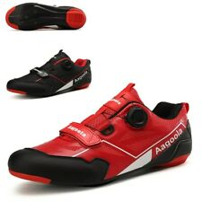 Cycling Shoes Men Professional Mtb Speed Road Bicycle Sneakers Outdoor Boots Red