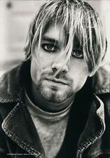 Kurt Cobain - Profile - Fabric Poster - 30x40 Wall Hanging Nirvana 51065
