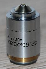 Reichert-Jung microscopio microscope objetivamente SPL 63x/0,80 ir