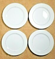 "Set of 4 Crown Victoria Lovelace 10 1/4"" Dinner Plates Japan Fine China"