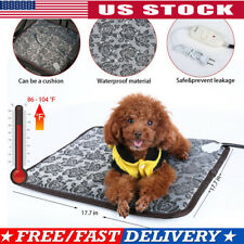 Pet Heated Warm Pad Puppy Dog Cat Electric Waterproof Bed Heating Mat Heater Mat