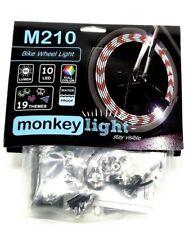 Monkey Light M210 LED Bike Wheel Spoke Color Light 19 Themes Flashing Safety