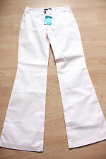 BODEN  light pink flared cotton trousers 8R  NEW