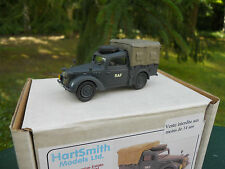 VEHICULE  MILITAIRE HARTSMITH  REF H 53 AUSTIN TILLY COULEUR BLEU RAF MINT  BOX