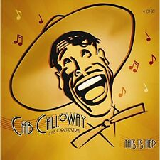 CAB CALLOWAY AND HIS ORCHESTRA - THIS IS HEP 4 CD NEU