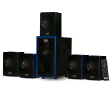 Acoustic Audio AA5102 5.1 Home Theater Speaker System Surround Sound Multimedia