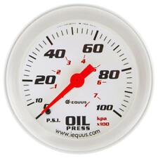 "Equus Engine Oil Pressure Gauge 8444; 8000 Series 0-100 psi 2-5/8"" Mechanical"