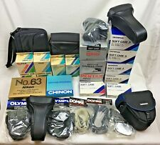 Large Lot of New Old Stock Camera Cases Nikon Pentax Canon Tamron NOS