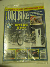 July 1998 #98 Old Bike Journal Magazine - BMW's First 75 Years  (BD-38)