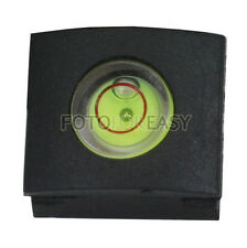 Bubble Spirit Level Hot shoe cover cap for Canon Nikon