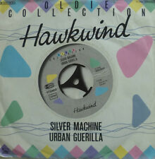 """7"""" HAWKWIND : Silver Machine + Urban Guerilla / VG+"""