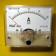 Current Panel Meter 20 Amp Analog Direct Display Solar Battery 12v 24v DC 20a 85