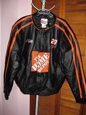 Chase Authentics Tony Stewart Black Leather Jacket Size 2XL NWT