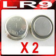 2 x LR9 PX625A EPX625G V625U 1.5v Alkaline Batteries