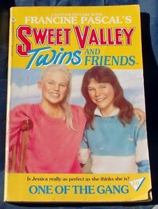 SWEET VALLEY TWINS & FRIENDS #10  ONE OF THE GANG (1987)