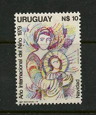 Uruguay  1979  #1048  Virgin & Child, Christmas, IYC  1v.  MNH   K219