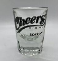 1987 (R) & (C) P.P.C. Cheers Tv Show Bar Boston Heavy Liquor Shot Glass