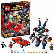 Lego (Lego) Super Heroes Iron Man: Detroit Steele Of The Attack 76077F/S