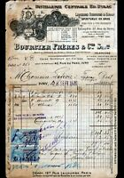 """IVRY-sur-SEINE (94) DISTILLERIE / LIQUEURS """"Ed. DULAC / BOURCIER Freres"""" en 1920"""