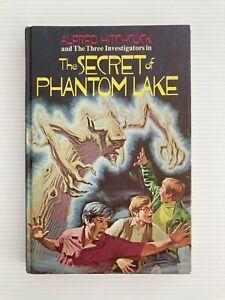 THREE INVESTIGATORS #19 THE SECRET OF PHANTOM LAKE 1st 1973 HC RANDOM HOUSE US