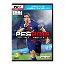 KONAMI Videogioco per PC Pro Evolution Soccer 2018 Premium Edition SCDP32