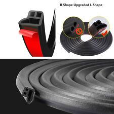 5 M L-Shape Sealant Car Seals Sound Insulation Door Rubber Seal Weather-strip