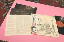 PINK FLOYD LP RELICS JAPAN NM COMPLETO OBI 3 INSERTI GATEFOLD TEXTURED COVER