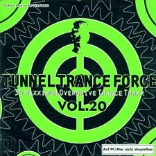 Tunnel Trance Force 20 (2002) Scotty, Miss Shiva, Beam vs. Cyrus, Adrim.. [2 CD]