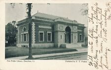 DANIELSON CT – Free Public Library – udb – mailed 1908