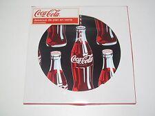 Dessous de Plat en Verre Coca Cola Black Ø 20 cm Salvamanteles NEUF