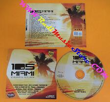 CD Compilation 105 Miami Vol.2 CLEAN BANDIT PITBULL PROMO no lp mc vhs dvd(C24)
