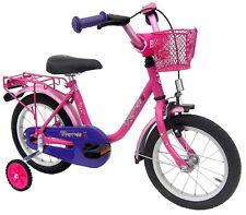 """Kinderfahrrad 14"""" Zoll (=35,6cm) EMPRESS pink Stützräder + Seitenständer NEU"""