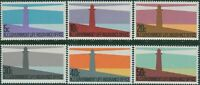 New Zealand Life Insurance 1981 SGL64-L69 Lighthouses set MNH