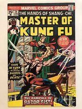 Master of Kung Fu 29 (Marvel 1975) 1st app RAZOR FIST, SAVANNAH PEDIGREE