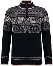 Men's Fair Isle, Nordic Regular Funnel Neck Jumpers & Cardigans
