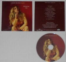 Lucie Silvas & E.G.O. - advance - U.S. cd, card cover