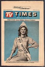 SEATTLE~BELLEVUE Tv Guide~Miss Universe~Finland~Anne Marie Pohtamo~Family Fued