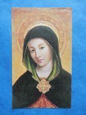 IMAGE PIEUSE HOLY CARD  MARIE LA PAIX  NEUVAINE IMMACULEE CONCEPTION 1964  THFR