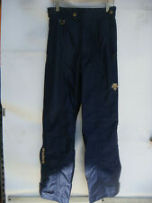 DESCENTE SKI/SNOWBOARD WINTER PANTS MEN'S SIZE 32 BLUE AND GOLD