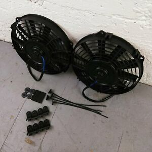 1959 - 1970 Chevrolet Full Size Car 9 DUAL FANS Air Cooling Fan Deluxe