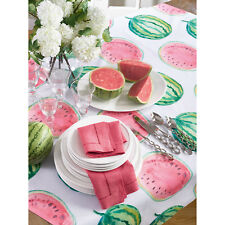 Occasion Gallery Red Color Printed Watermelon Table Topper / Tablecloth , 5