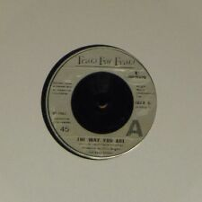 "TEARS FOR FEARS 'THE WAY YOU ARE' UK 7"" SINGLE"