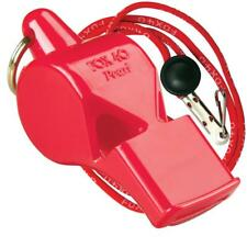RED Fox 40 PEARL Whistle Official Coach Safety Alert Rescue FREE LANYARD