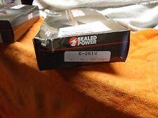 sealed power e251x amc chysler ford gm jeep gmc piston ring set 322 350 standard