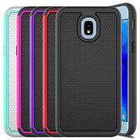 For Samsung Galaxy J3 2018/Orbit/Star/Achieve/J3 V Case Cover + Screen Protector