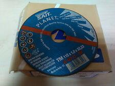 DISCO MOLE TAGLIO FERRO METALLO INOX PLANET TM SAIT 115X1X22,23 A60Q BF PZ 20