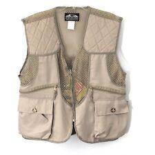 Fieldline M Medium Vest Beige Khaki Hunting Multi Pocket Gamebag Outdoors Mens