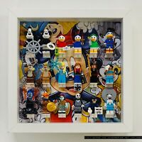 Display Case Frame for Lego Disney Series 1 & 2 71024 Minifigures no figures