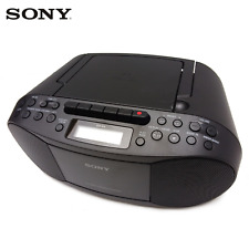 CD Player Sony Cfd-s70  Stereo Boombox Am FM Radio Mp3 AUX in