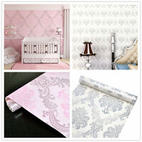 Floral Pattern Wallpaper Rolls Wall Stickers Vinyl Self Adhesive Contact Paper
